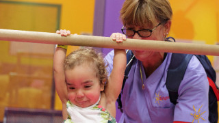Photo: Photos from a BrightStart Pediatrics field trip to O2B Kids and the Oviedo Mall