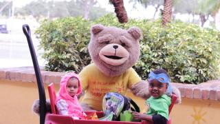 Photo: BrightStart children trick or treat